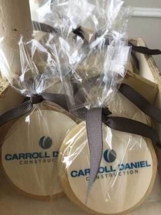 iced sugar cookies and corporate events gifts